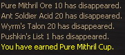 Pure Mithril Cup